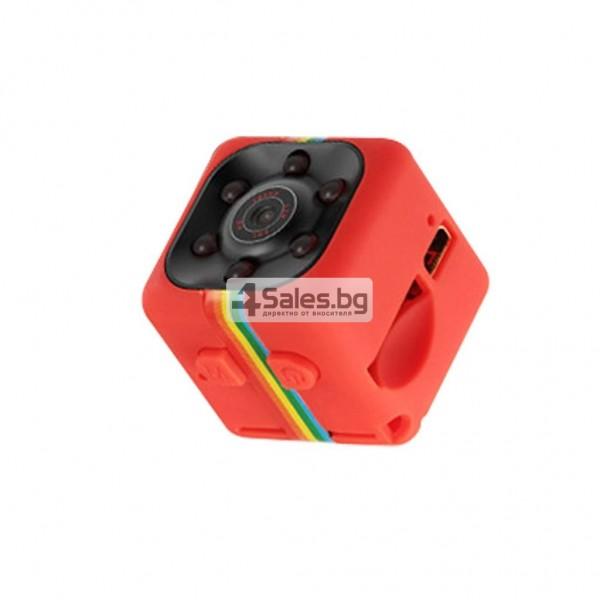 Удароустойчива мини екшън камера с HD резолюция и сензор за движение SC11 1