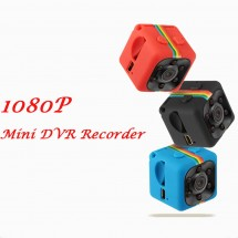 Удароустойчива мини екшън камера с HD резолюция и сензор за движение SQ11