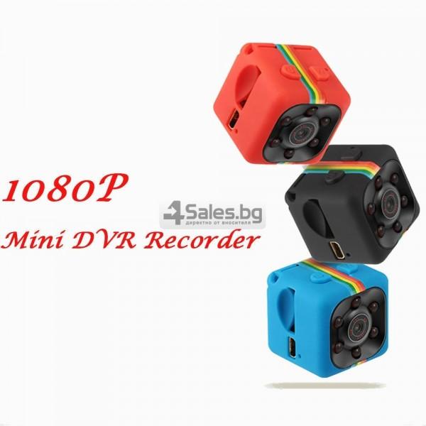 Удароустойчива мини екшън камера с HD резолюция и сензор за движение SC11 3