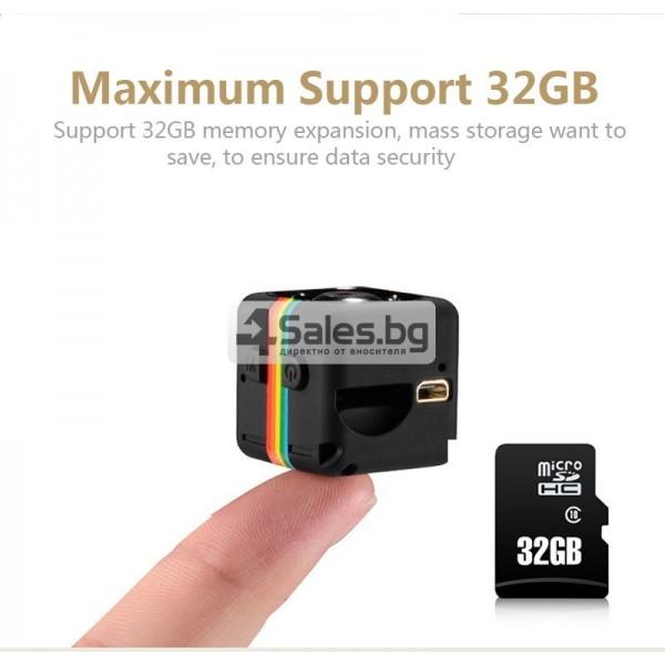 Удароустойчива мини екшън камера с HD резолюция и сензор за движение SC11 5