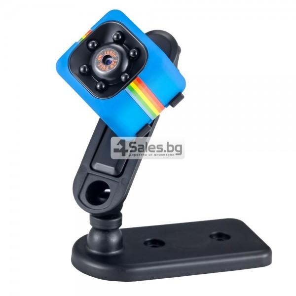 Удароустойчива мини екшън камера с HD резолюция и сензор за движение SC11 7