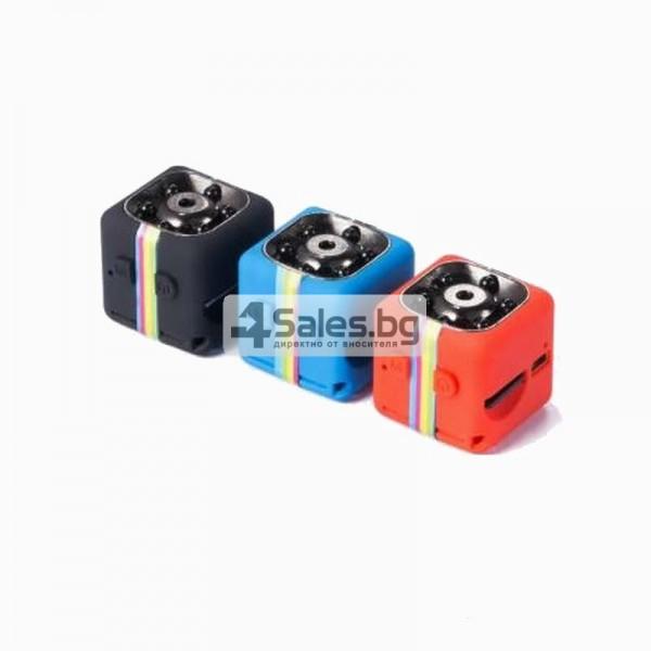 Удароустойчива мини екшън камера с HD резолюция и сензор за движение SC11 8