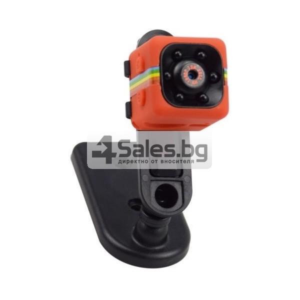 Удароустойчива мини екшън камера с HD резолюция и сензор за движение SC11 9