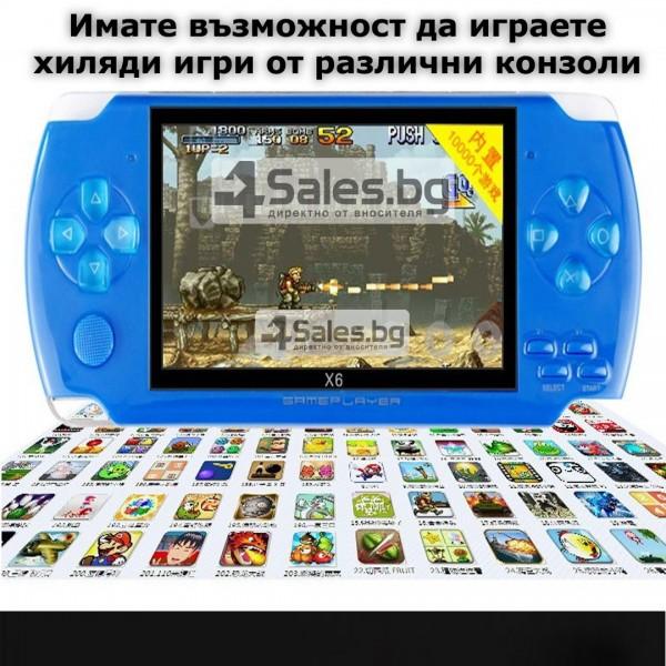 Конзола за игри с 8 GB памет, 4,3 инча дисплей PSP21 9