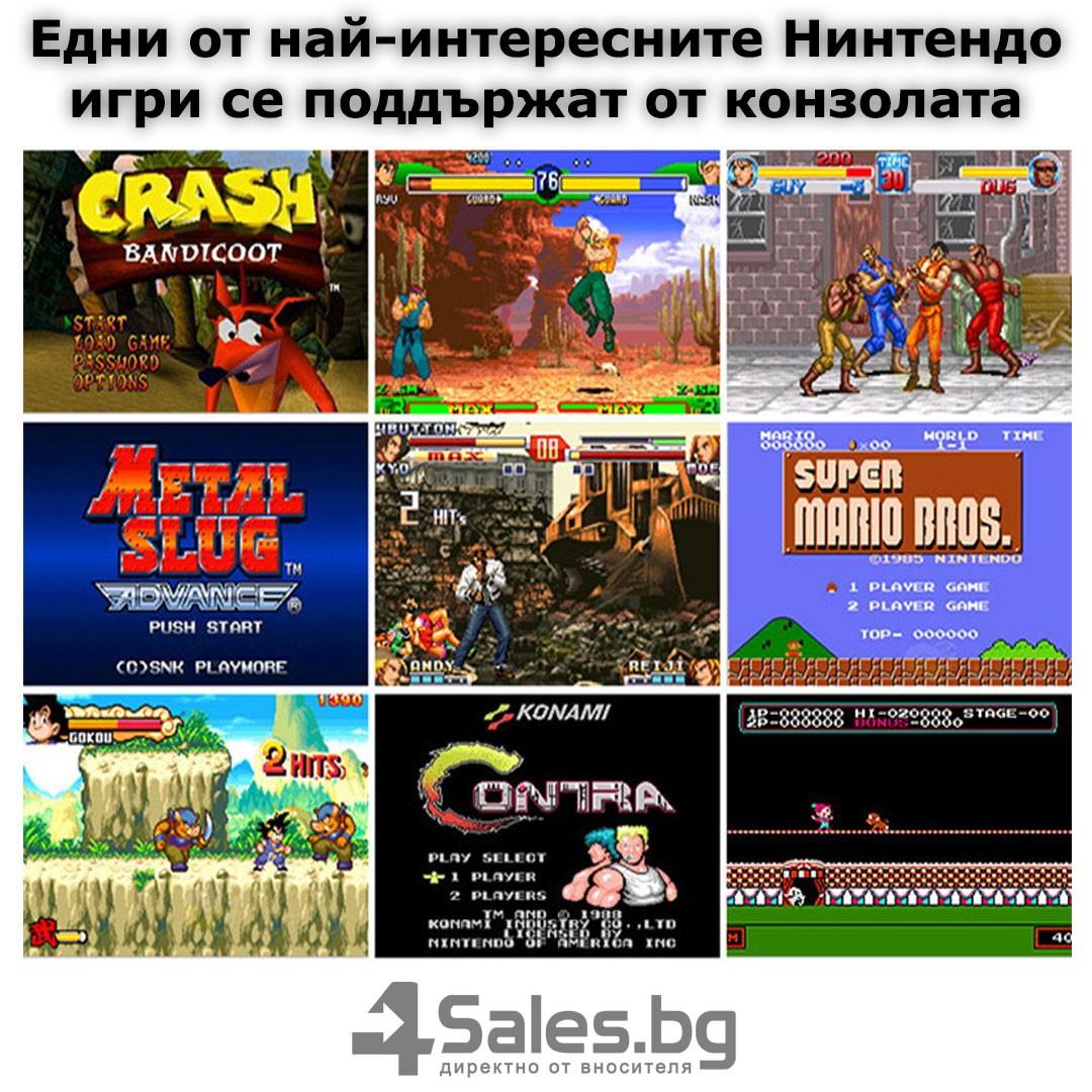 Конзола за игри с 8 GB памет, 4,3 инча дисплей PSP21 10
