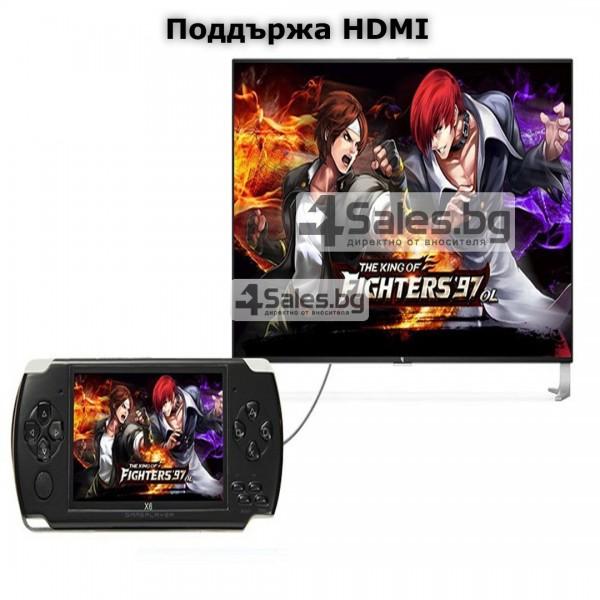 Конзола за игри с 8 GB памет, 4,3 инча дисплей PSP21 12