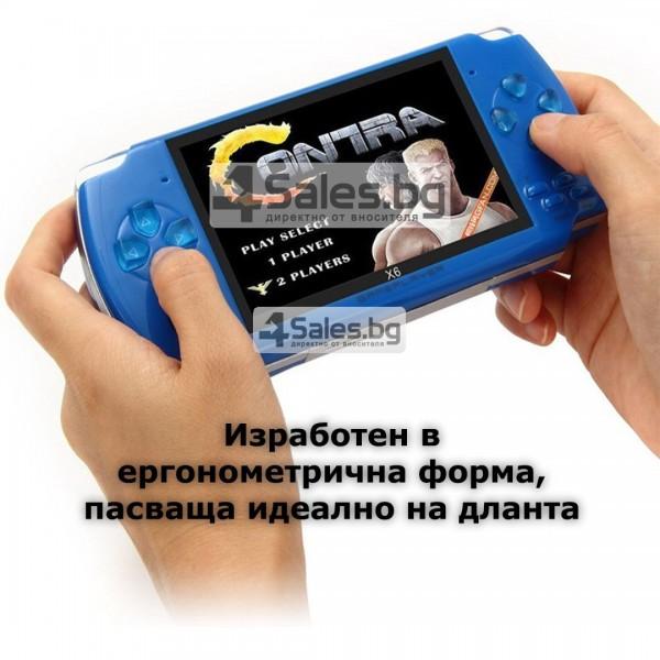 Конзола за игри с 8 GB памет, 4,3 инча дисплей PSP21 13