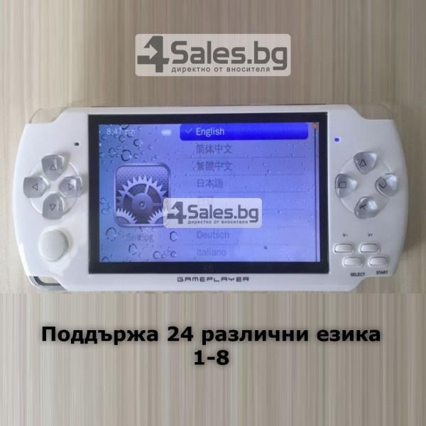 Конзола за игри с 8 GB памет, 4,3 инча дисплей PSP21 14