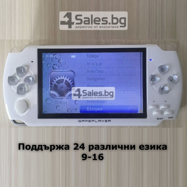 Конзола за игри с 8 GB памет, 4,3 инча дисплей PSP21 15