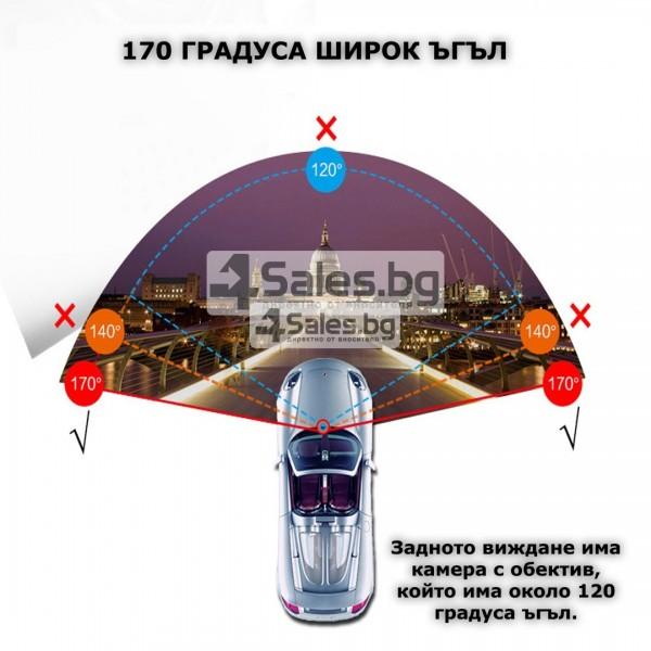 Видеорегистратор тип огледало за задно виждане DVR JPG 1080 P -8Mpx AC25 15