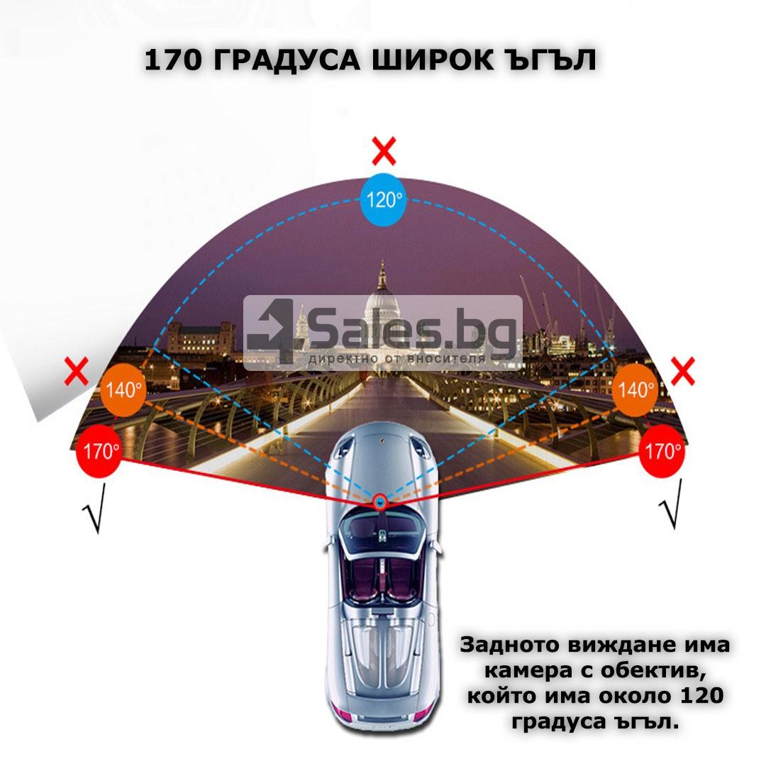Видеорегистратор тип огледало за задно виждане DVR JPG 1080 P -8Mpx AC25 16