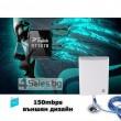 Мощен и бърз WI FI адаптер Lafalink-D660 с USB кабел WF21 9