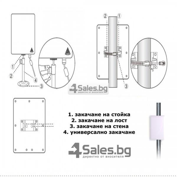 Мощен и бърз WI FI адаптер Lafalink-D660 с USB кабел WF21 14