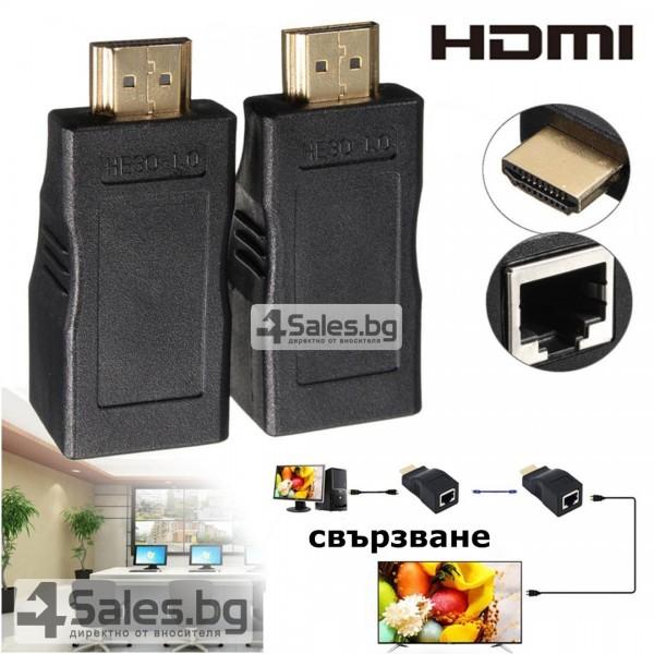 Чифт удължители за HDMI, OXA CA51 10