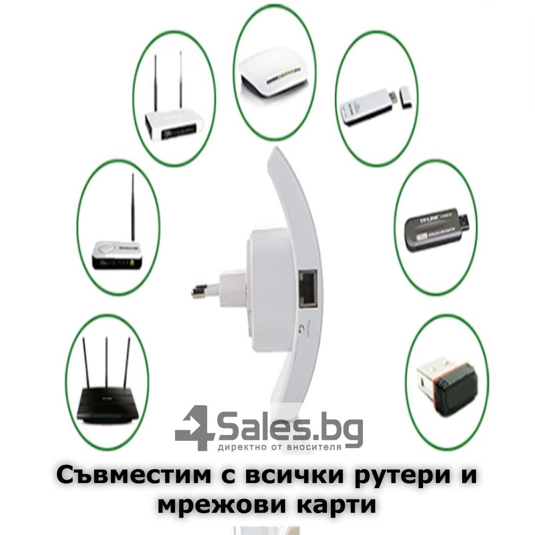 Безжичен рутер - ретранслатор на Wi-Fi сигнал 300Mbps WF3 15