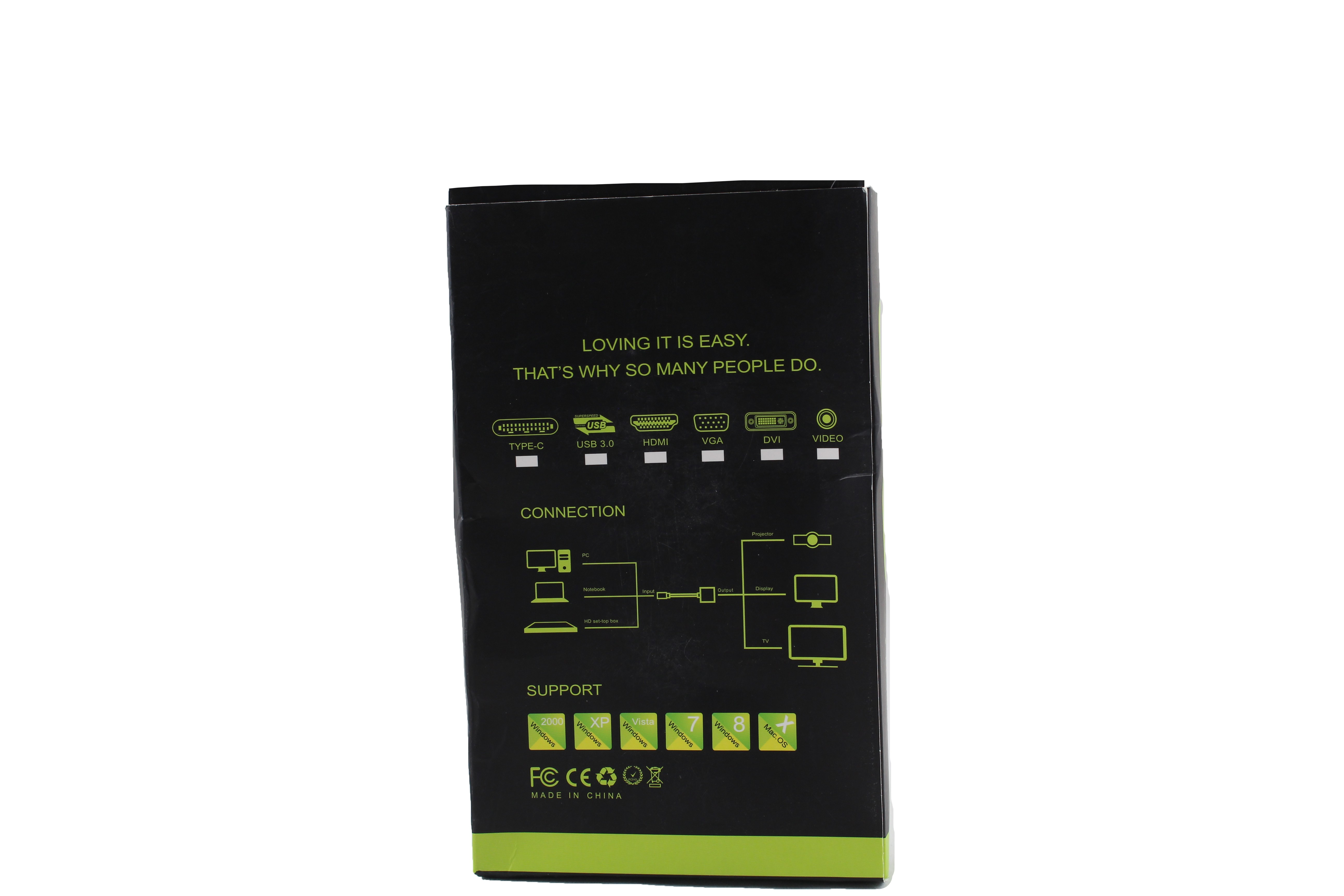 VGA към HDMI 1080P HD Audio TV AV HDTV видео кабел конвертор адаптер CA88 20