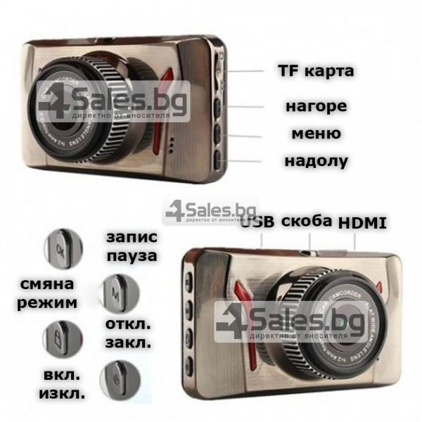 12MPX HD Автомобилна камера с възможност за нощно виждане AC37 11