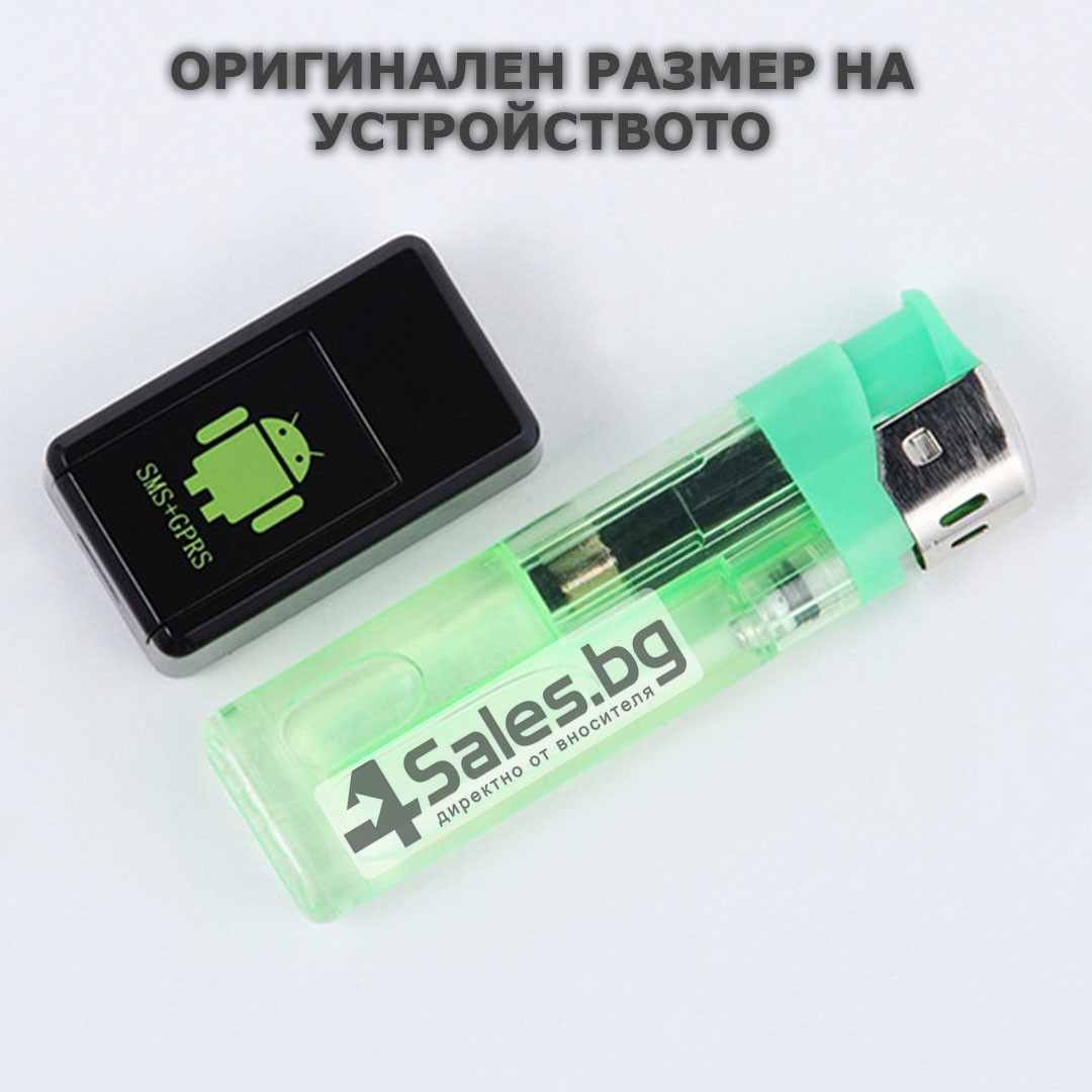 Мини тракер за подслушване и проследяване с GPS, Sim карта и камера GF08 8