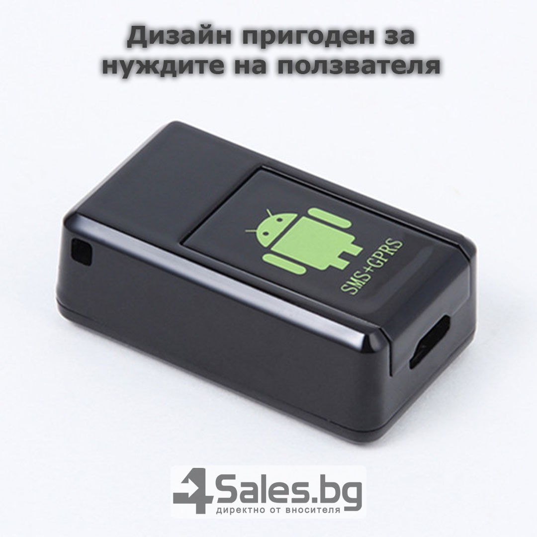 Мини тракер за подслушване и проследяване с GPS, Sim карта и камера GF08 9