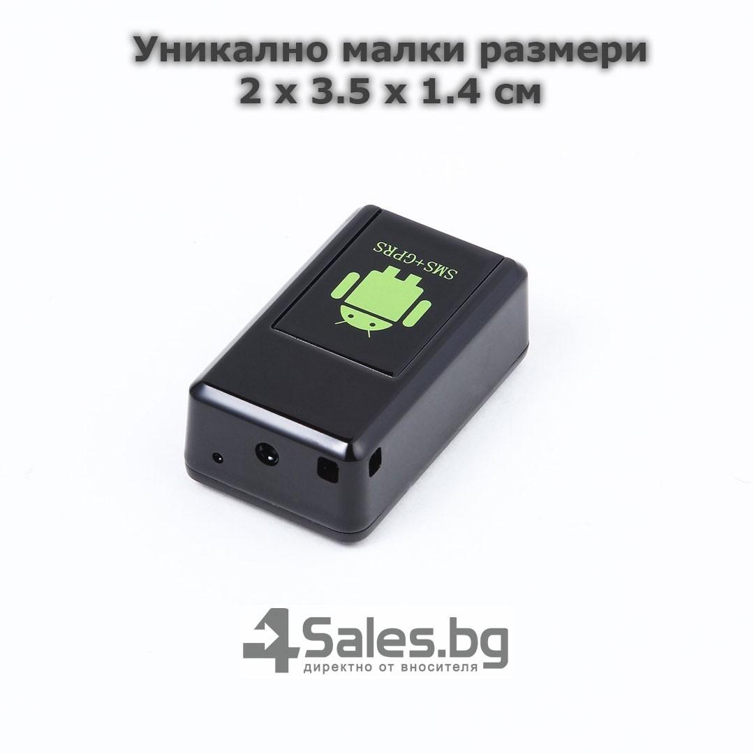 Мини тракер за подслушване и проследяване с GPS, Sim карта и камера GF08 11