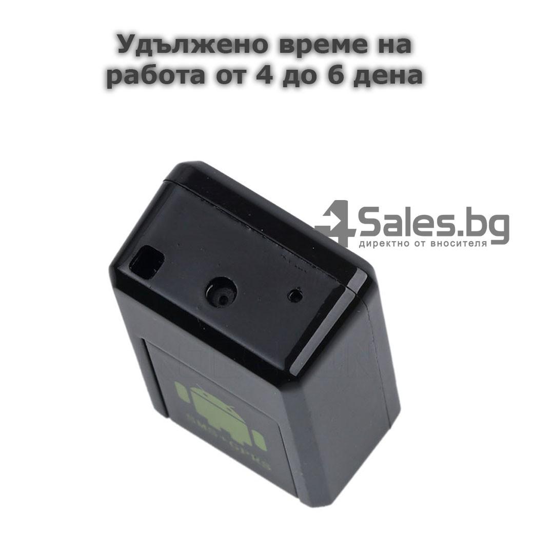 Мини тракер за подслушване и проследяване с GPS, Sim карта и камера GF08 13