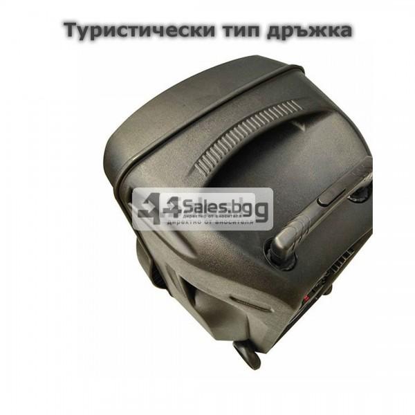 Тонколона Mozhirin SA8600-6 - 15 инча с 2 микрофона и цветомузика 14