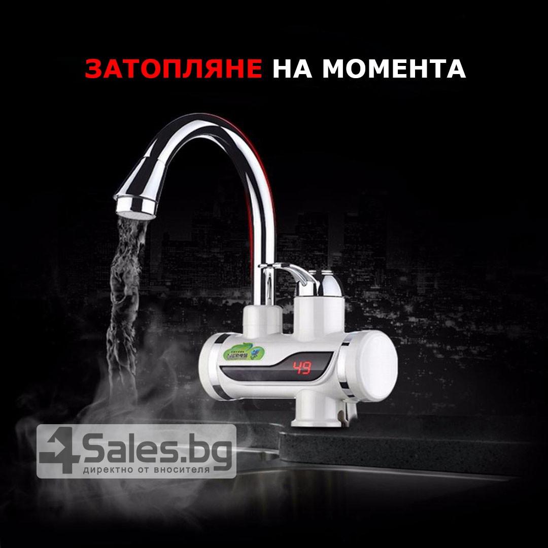 Смесител за вода с нагревател за мигновено загряване 3000W TV69 12