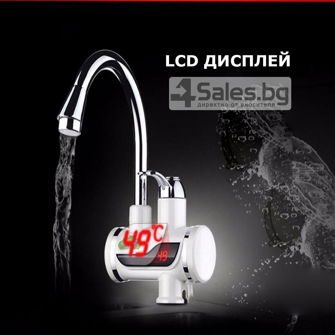 Смесител за вода с нагревател за мигновено загряване 3000W TV69 13