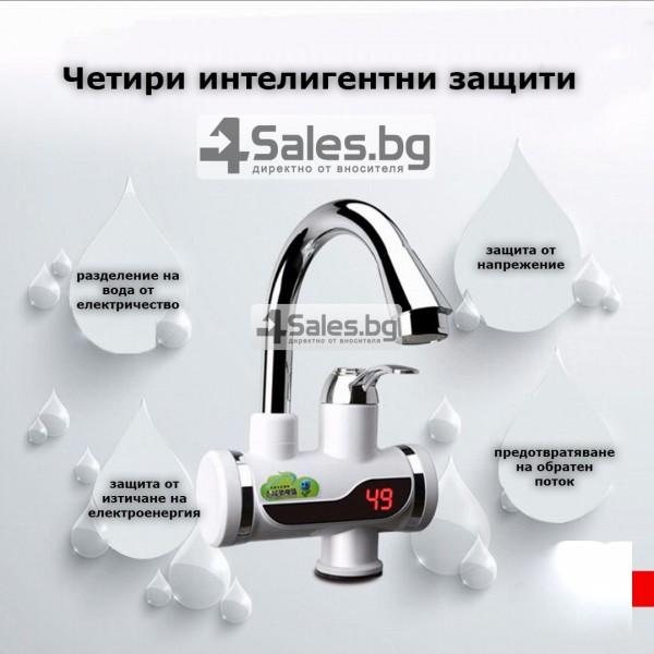 Смесител за вода с нагревател за мигновено загряване 3000W TV69 15