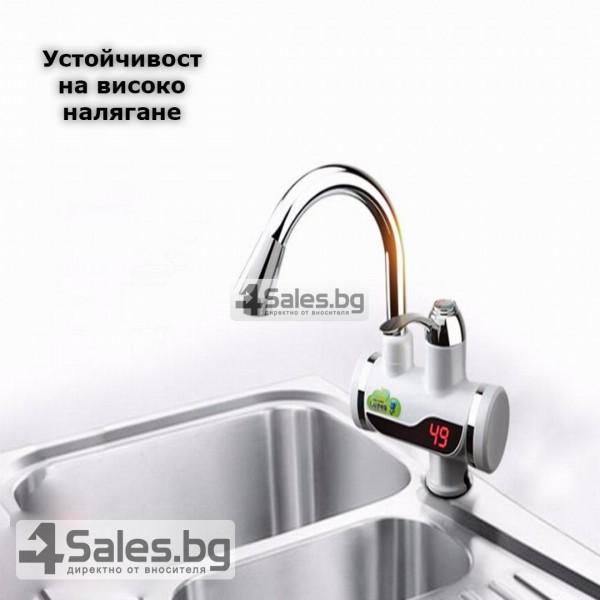 Смесител за вода с нагревател за мигновено загряване 3000W TV69 16