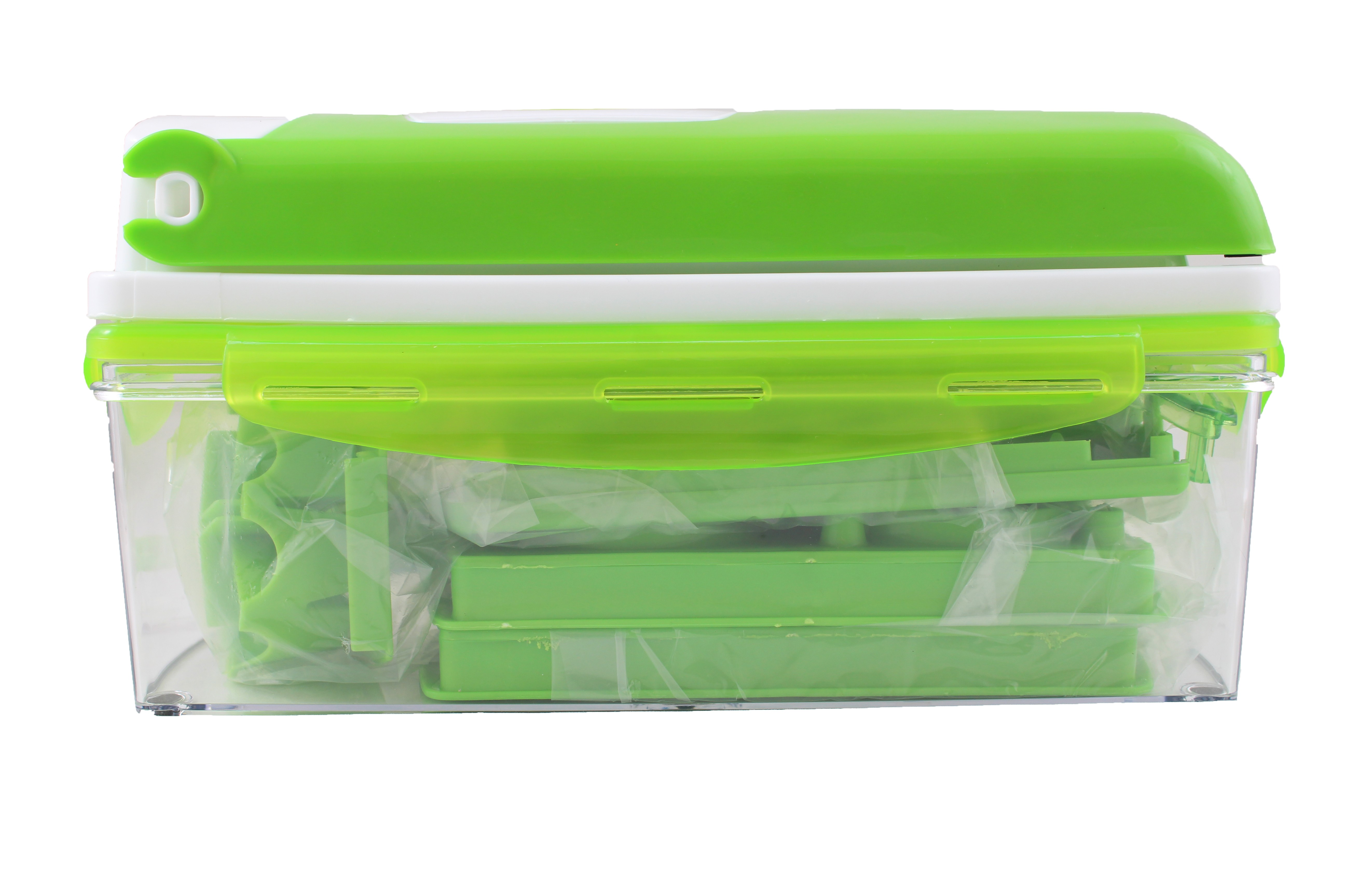 Кухненско Ренде за зеле, моркови с контейнер - Nicer Dicer Plus от 13 частиTV32 11