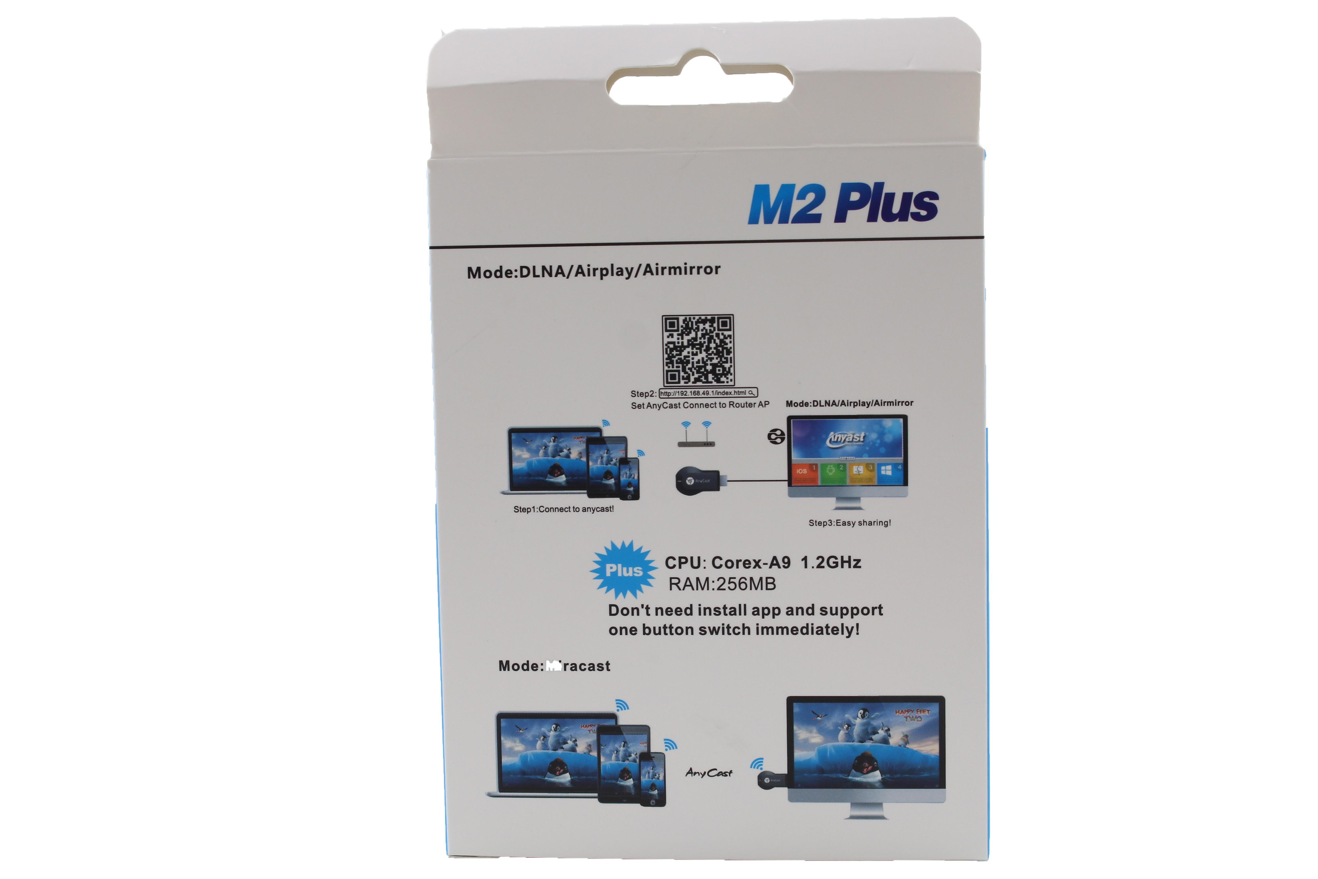 WiFi TV stick Anycast Безжично свързване на телефон, таблет с телевизор CA80 6