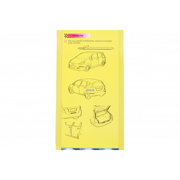 Протектор за автомобил за допълнителна защита по време на паркиране 6