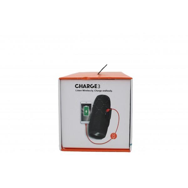 Водоустойчива Bluetooth колонка с издържлива батерия Charge 3 2