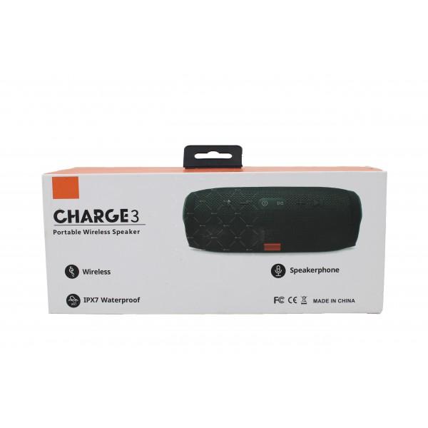 Водоустойчива Bluetooth колонка с издържлива батерия Charge 3 3