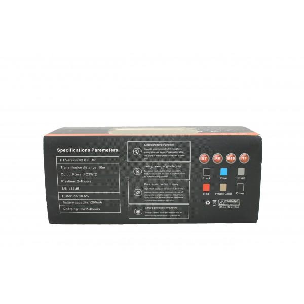 Bluetooth колонка с издръжлива батерия, FM радио, флашка, USB, Bluetooth J 29 3