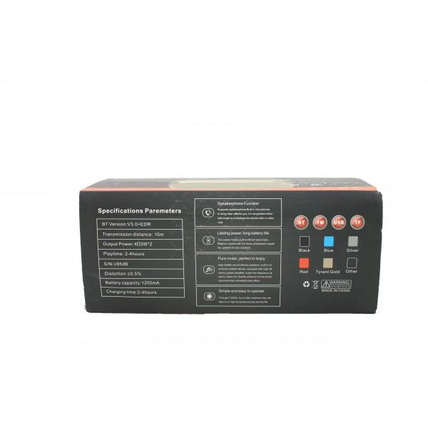 Bluetooth колонка с издръжлива батерия, FM радио, флашка, USB, Bluetooth J 29 4