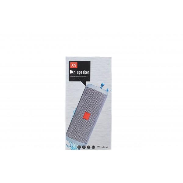 USB Bluetooth колонка със слот за SD карта и много издържлива батерия X9 1