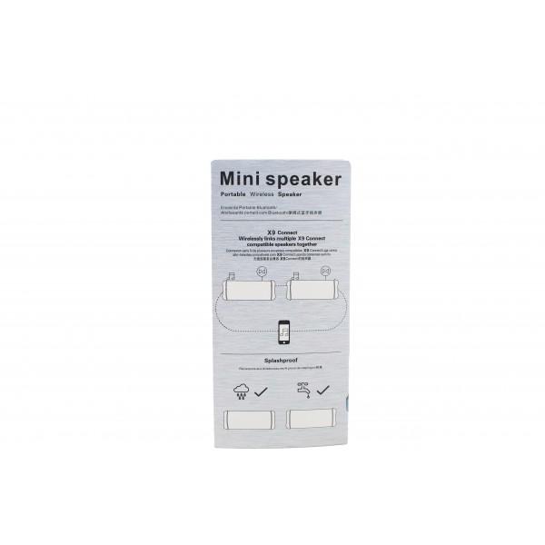 USB Bluetooth колонка със слот за SD карта и много издържлива батерия X9 2