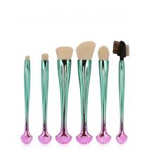 Шест броя козметични четки за перфектен грим HZS16