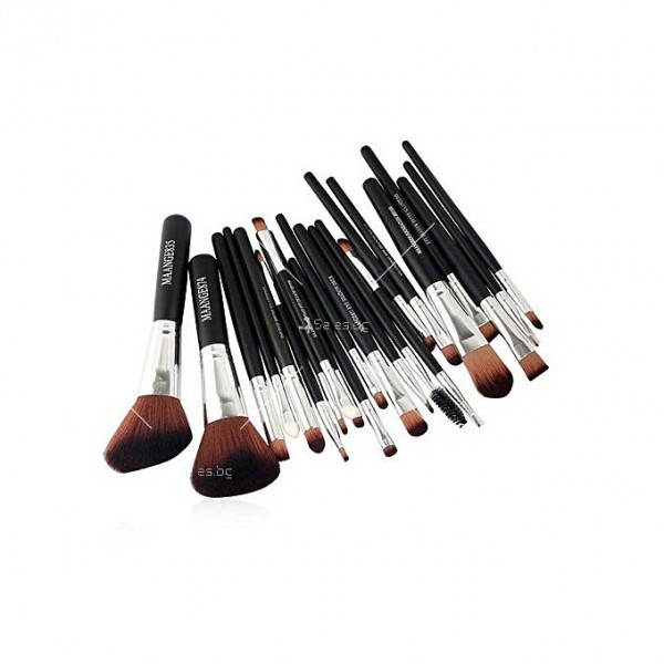 Богат комплект от 22 броя козметични четки Maange HZS30 2