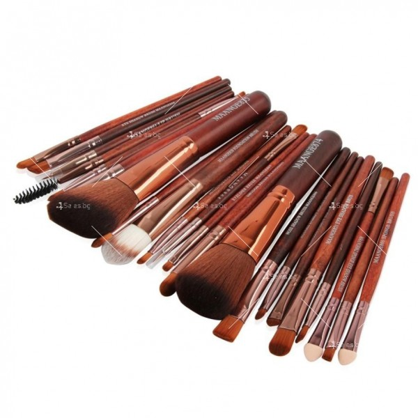 Богат комплект от 22 броя козметични четки Maange HZS30 5