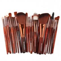 Богат комплект от 22 броя козметични четки Maange HZS30