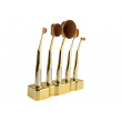 Ретро колекция козметични четки с поставка Maange HZS27 7