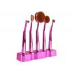 Ретро колекция козметични четки с поставка Maange HZS27 8