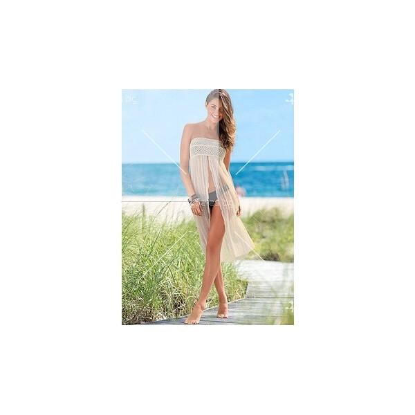 Пола-рокля с дълга цепка Y64 1