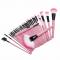 Колекция козметични четки 32 броя в чантичка HZS41 1