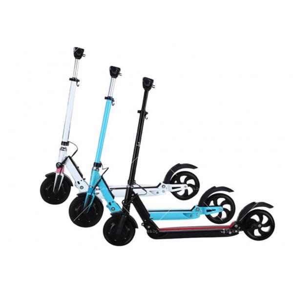 Електрически сгъваем скутер с 8 инчови гуми 4