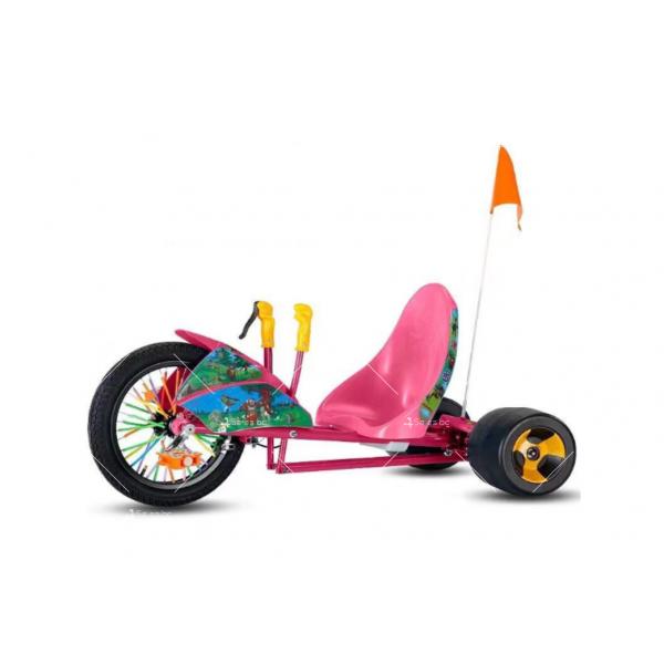 Автомобил с 3 гуми за деца и възрастни 3
