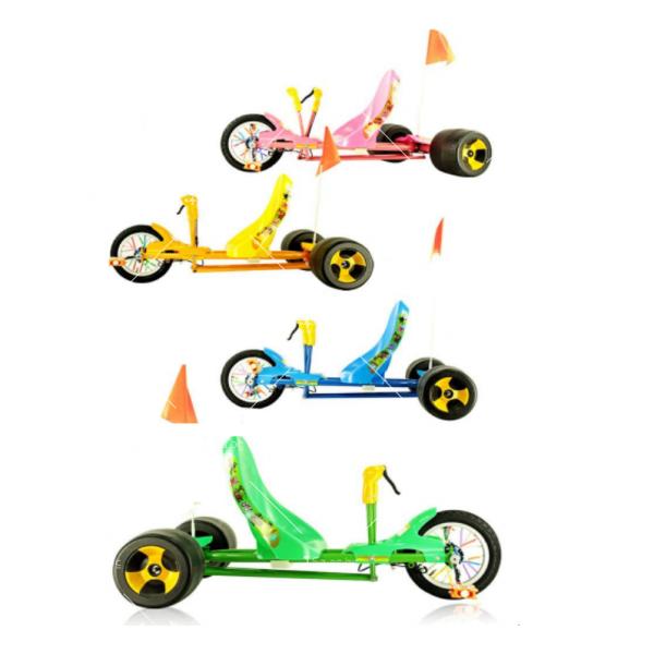 Автомобил с 3 гуми за деца и възрастни 6
